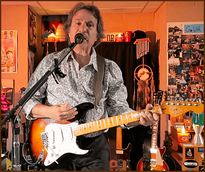 Mike Marino Performing on Guitar